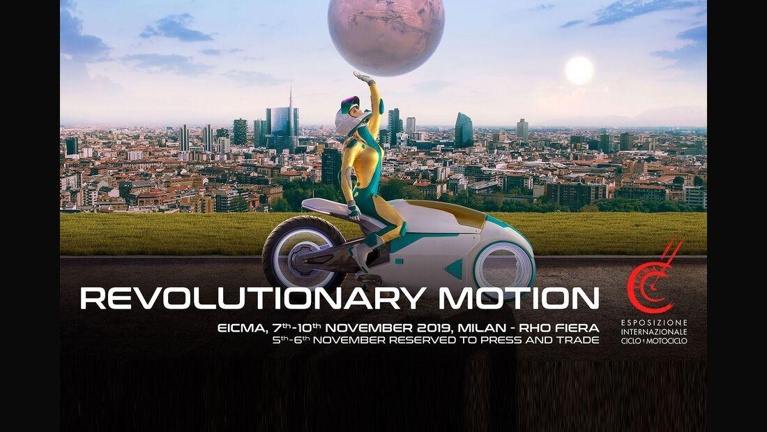 EICMA 2019 Plakat
