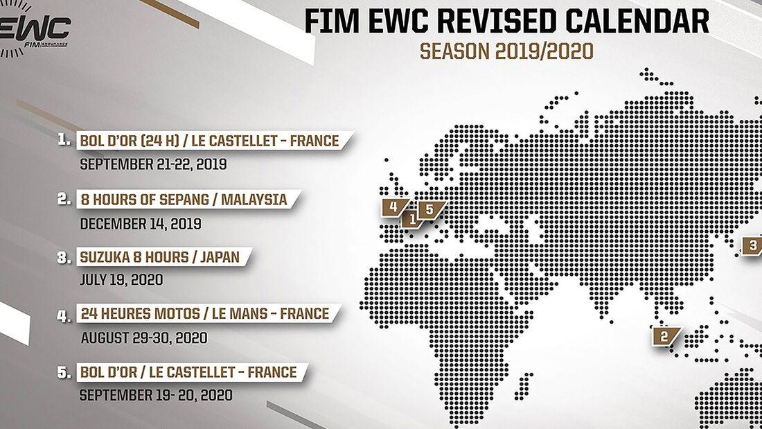 EWC Kalender 2020