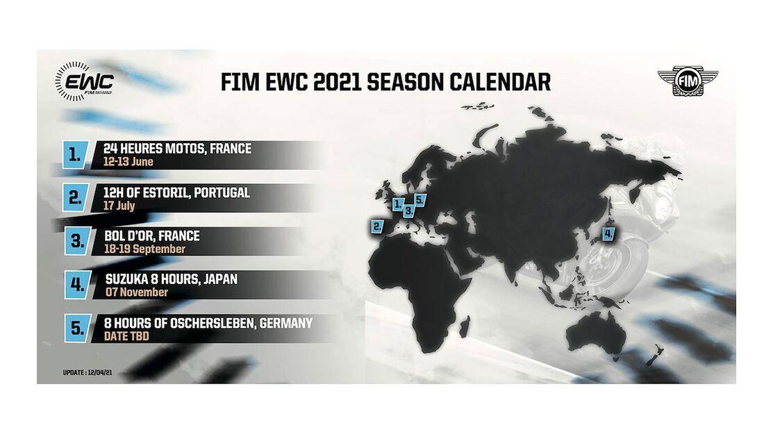 EWC Kalender Update 4/2021