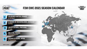 EWC Kalender Update März 2021