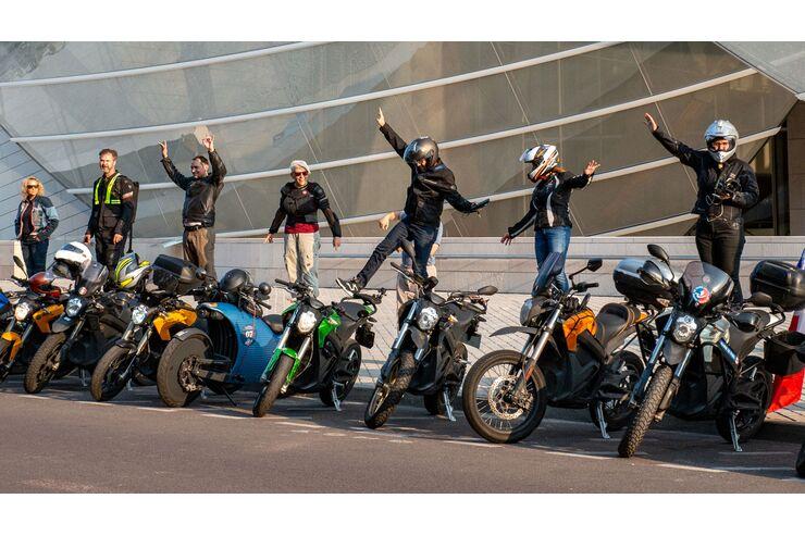 E-Motorrad-Treffen am 26. September 2020: Stromschlag im Schwarzwald
