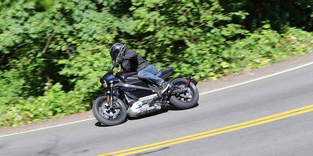 Elektro-Harley Harley-Davidson LiveWire Serienversion
