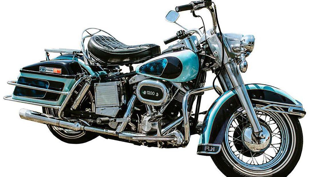 Elvis Presley's 1976 Harley Davidson FLH 1200 Electra Glide