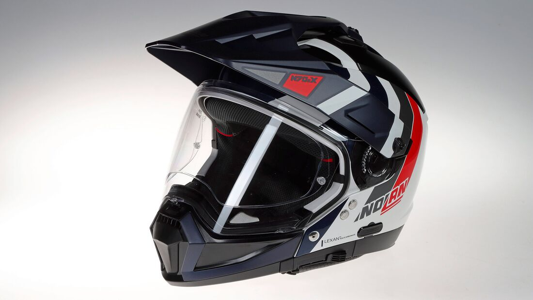 Endurohelm Adventure-Helm Test Nolan