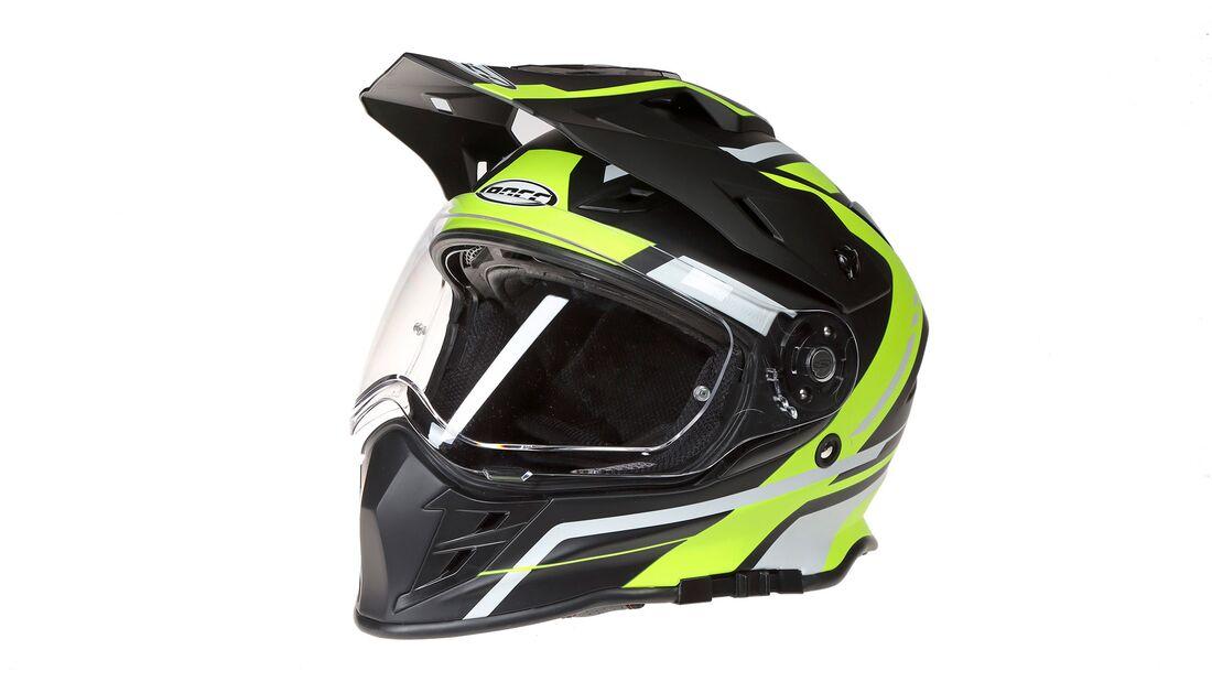 Endurohelm Adventure-Helm Test Rocc