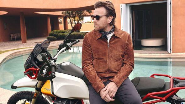 Ewan McGregor Moto Guzzi V85 TT