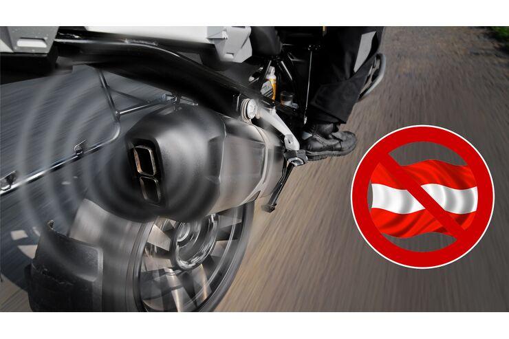 Lärm-Fahrverbot Tirol: Soundcheck zeigt unwirksame 95-dB-Regelung
