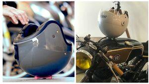 Frog Helmhalter Helmfixierung