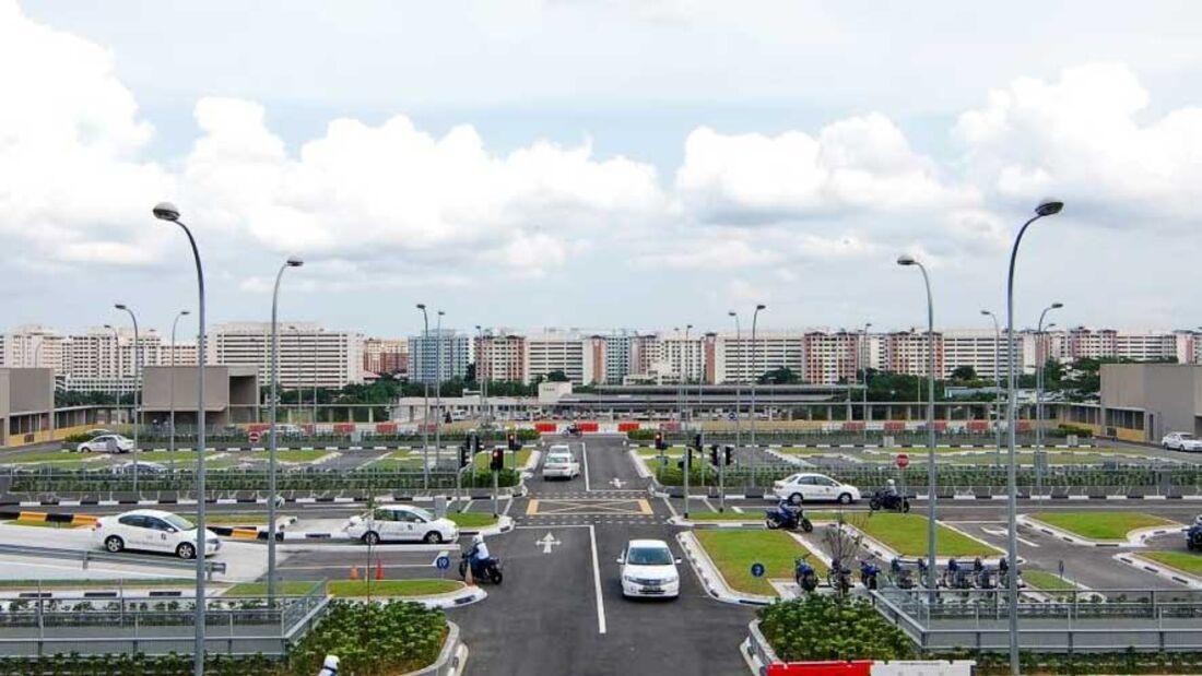 Führerschein Singapur
