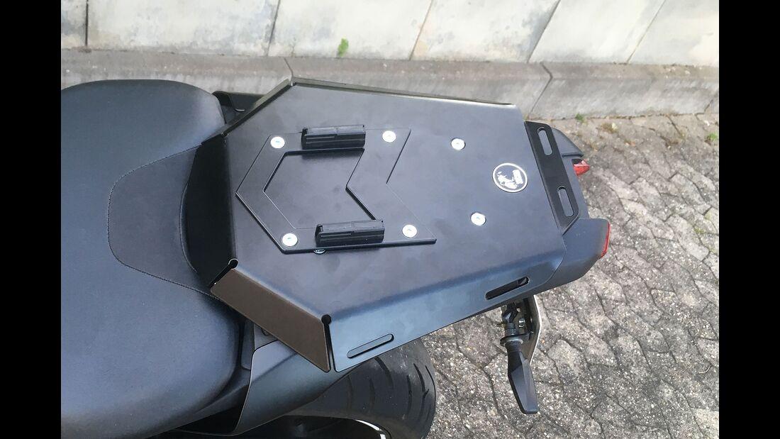 Gepäcksysteme Soziussitz Hecktaschen SW Motech Hepco Becker Seat Rack Sportrack