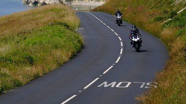 Geschwindigkeitsmesser und Tracker in Motorrädern Großbritannien
