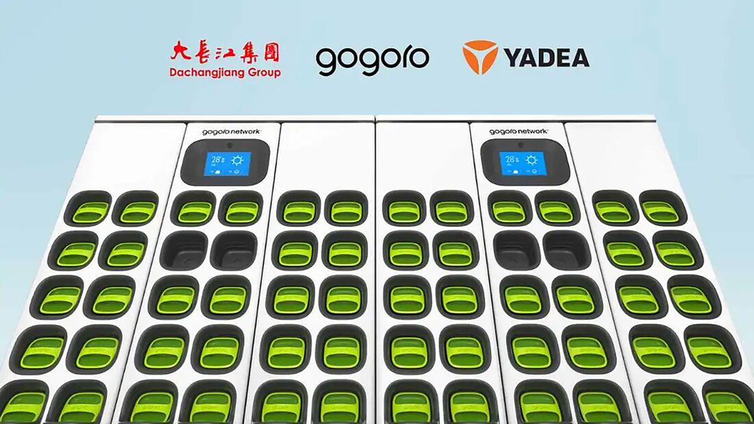 Gogoro Batterietauschsystem China
