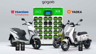 Gogoro Yadea DCJ Group Partnerschaft