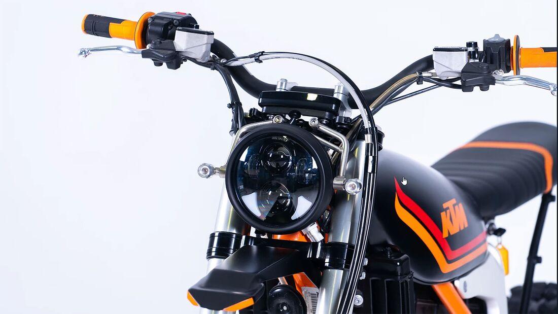 Grid Scrambler KTM Freeride EXC