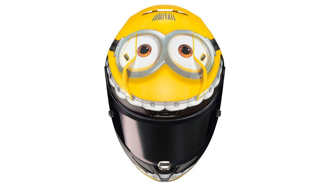 HJC RPHA 11 OTTO SCHERGEN Minion Helm