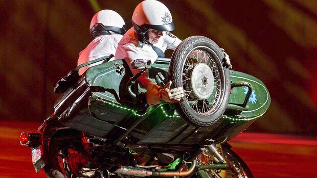 Hamburger Polizei Motorradstaffel