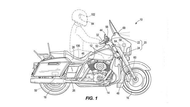 Harley Bremsassistent Patent