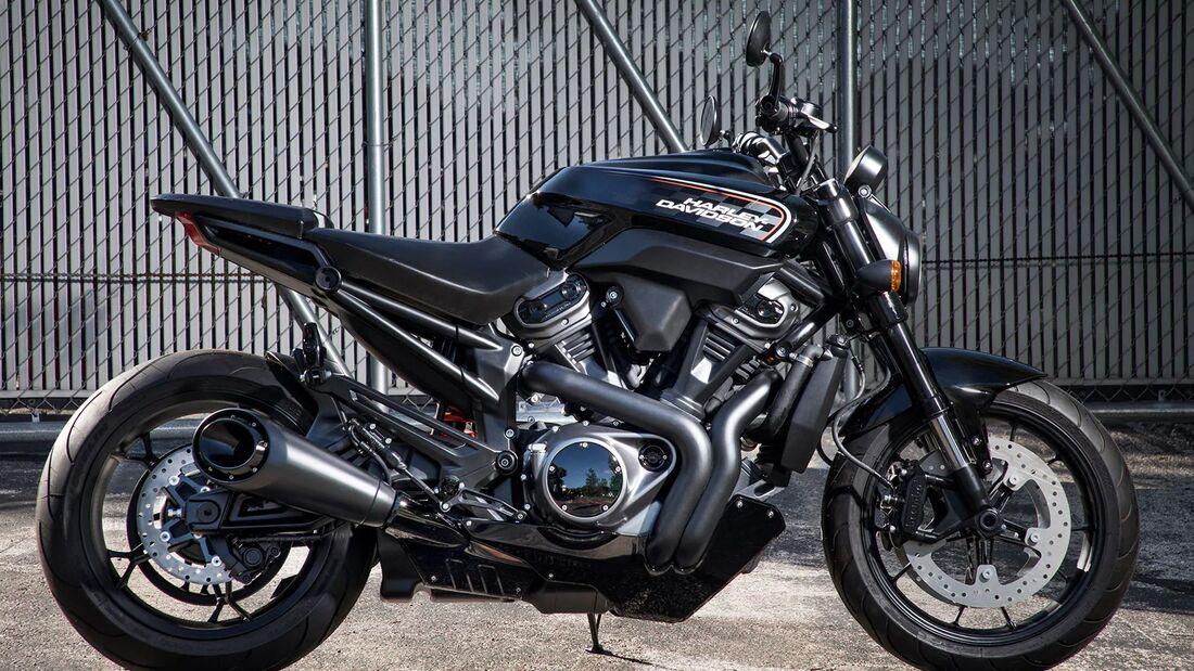 Harley-Davidson Bareknuckle.