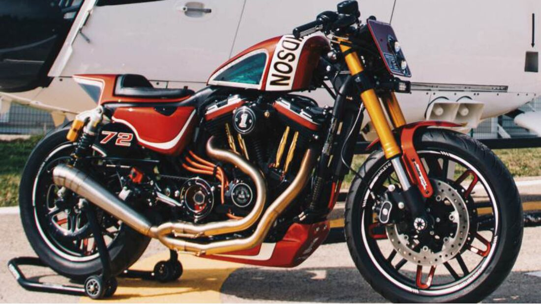 Harley-Davidson - Battle of the Kings 2020: Daytonas Red