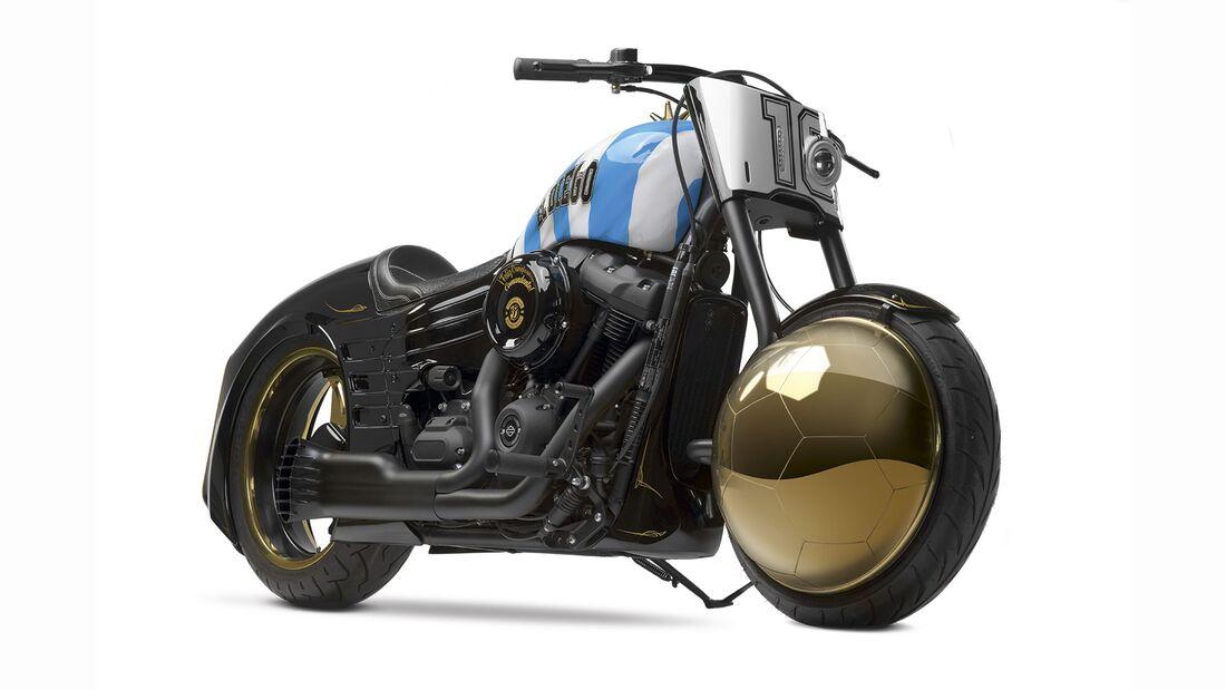 Harley-Davidson Fat Bob Yo Soy El Diego Maradona