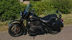 Harley Davidson Heritage Classic im Dauertest.