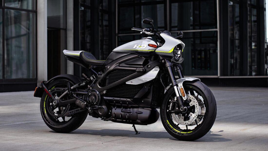 Harley-Davidson LiveWire Custom.
