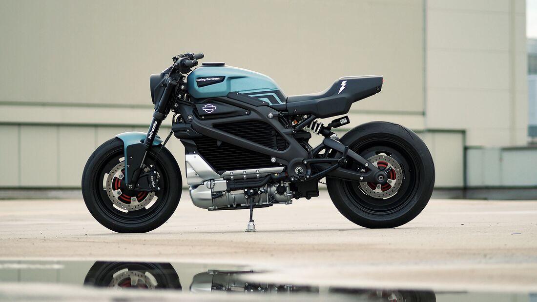 Harley-Davidson LiveWire-Umbau JvB-moto Silent Alarm