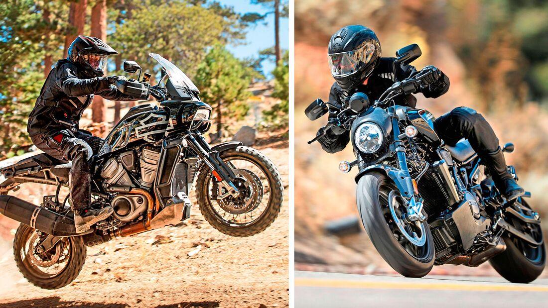 Harley-Davidson Modelljahr 2020 Teaser