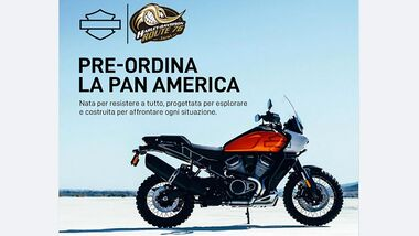 Harley-Davidson Pan America vorbestellbar