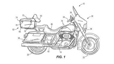 Harley-Davidson-Patent: Technologie zum selbstständigen Ausbalancieren.