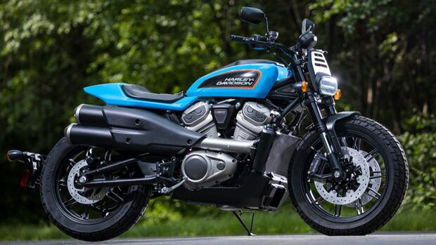 Harley-Davidson Prototyp Flat Tracker Patent