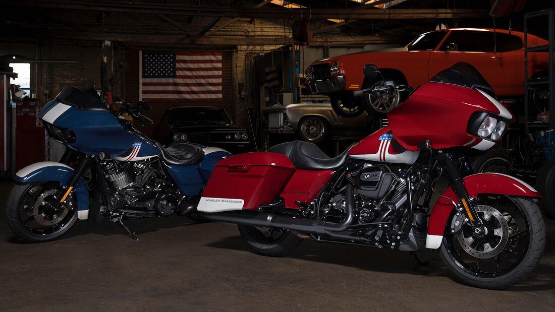 Harley Davidson Road Glide Special-Edition für die USA.