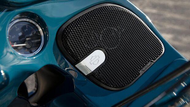 Harley-Davidson Rockford Fosgate Soundsystem