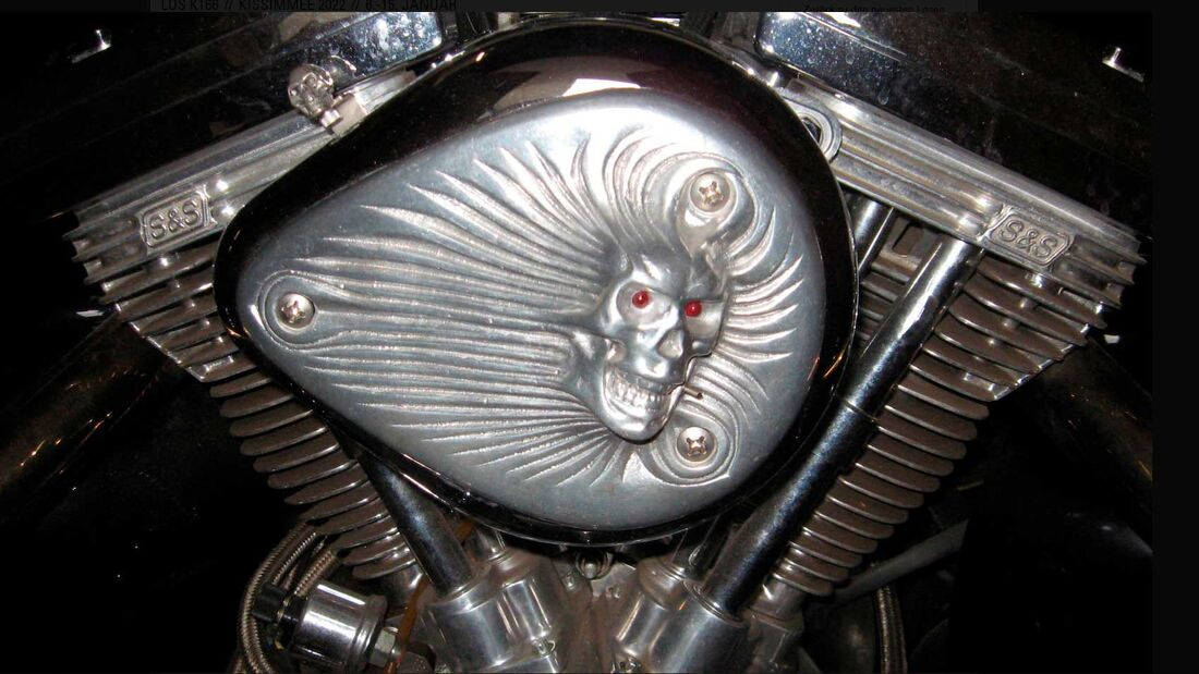 Harley-Davidson Skull Trike