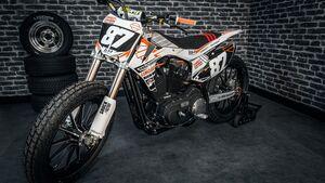 Harley-Davidson Sportster Flat-Track.