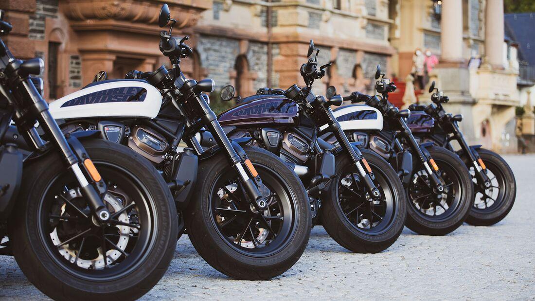 Harley-Davidson Sportster S-Experience