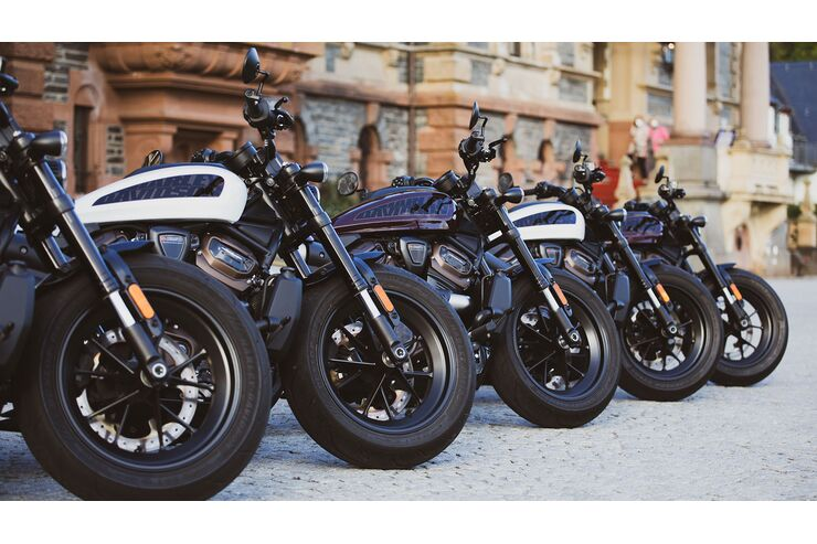 Harley-Davidson Sportster S Experience: MOTORRAD-Leser fahren Sporty an der Mosel
