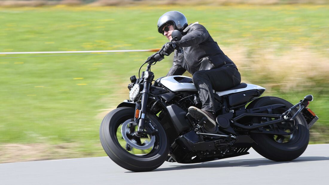 Harley-Davidson Sportster S Fahrbericht