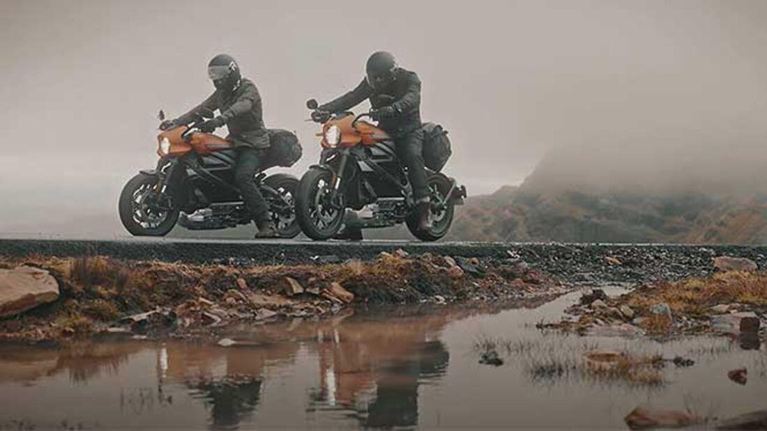 Harley-Live Wire, Belstaff, Turner Twins NC 500