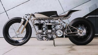 Hazan Velocette Custombike