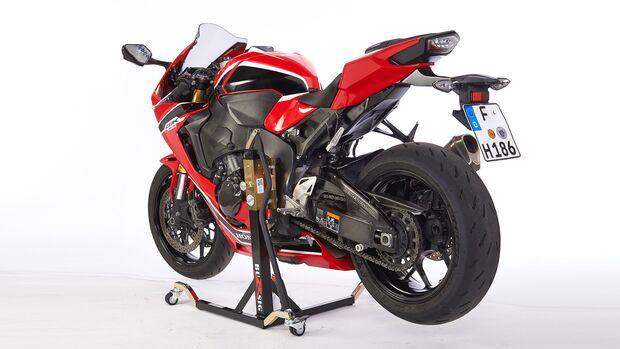 Heckstaender Montagestaender Test Motorrad