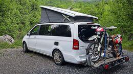 Heckträger Motorradtransport