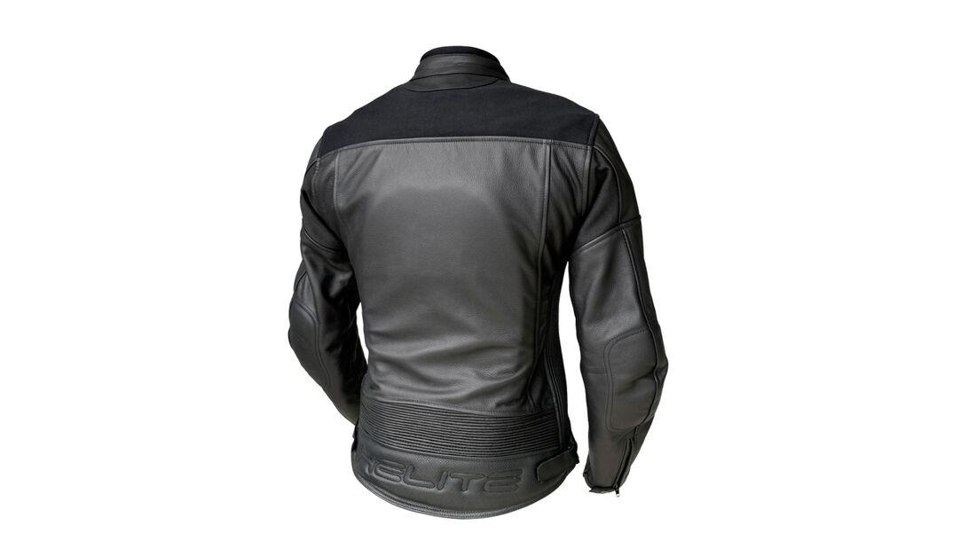 Helite Xena Airbag Motorrad-Lederjacke Damen