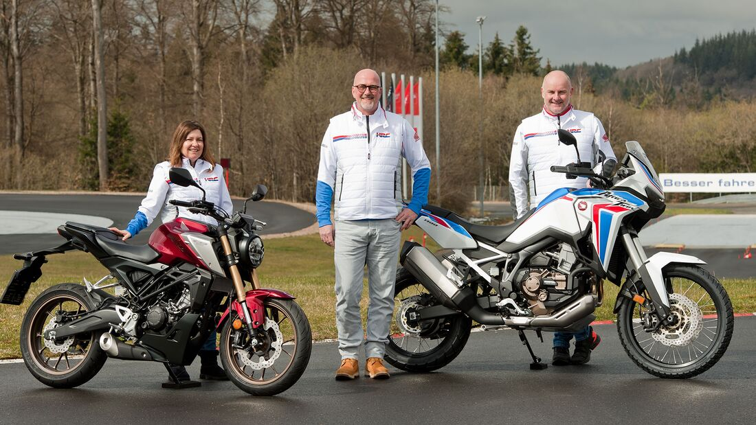 Honda 125er-Führerscheinerweiterung Komplettpaket Nürburgring