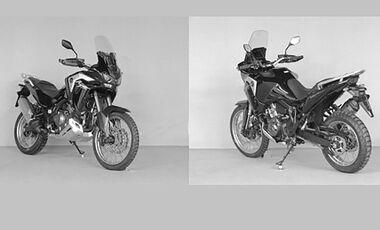 Honda Africa Twin CRF 1100 leaked