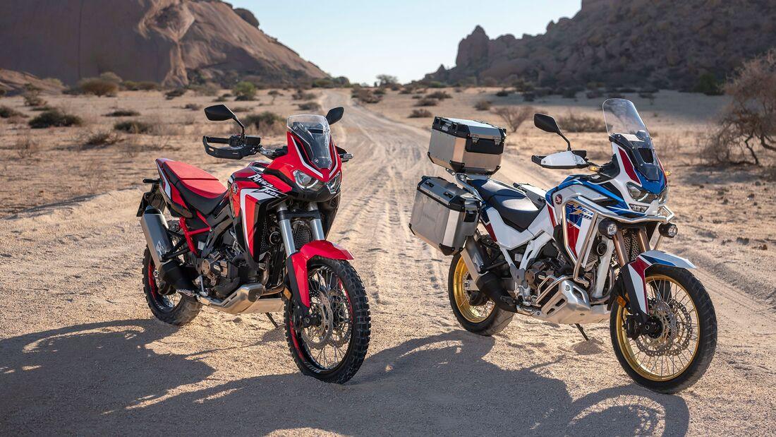 Honda Africa Twin und Honda Africa Twin Adventure Sports