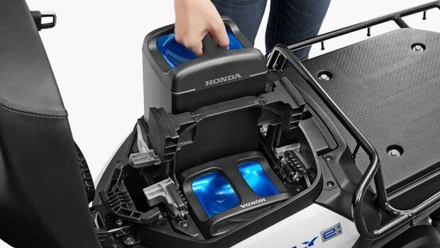Honda Batterietauschsystem E:Technology