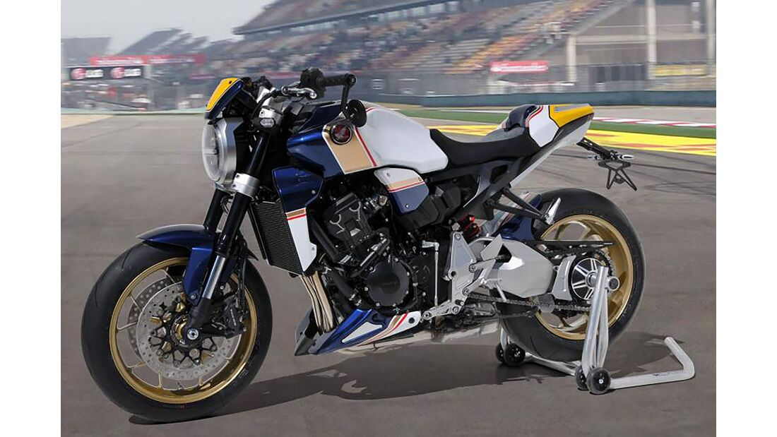 Honda CB 1000 R Custom-Wettbewerb Frankreich