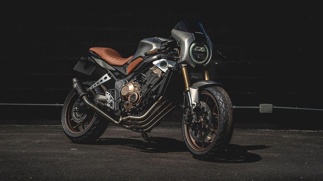 Honda CB 650 R: Honda Blanmoto.