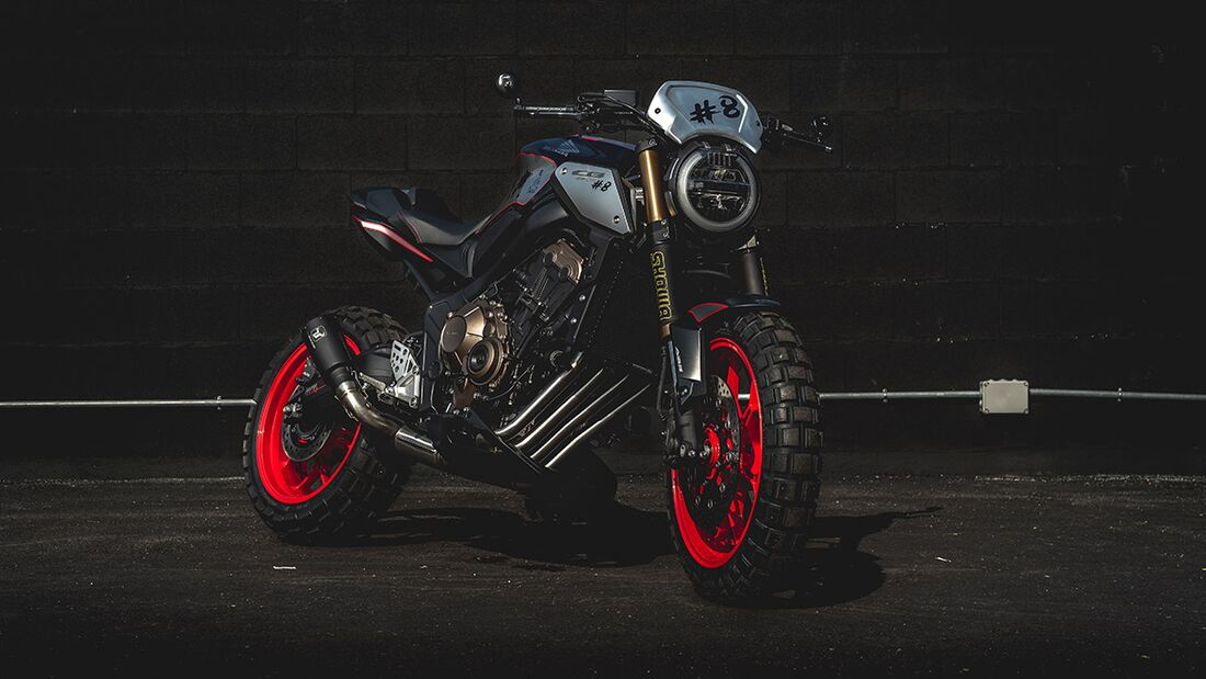 Honda CB 650 R: Honda Garonda.